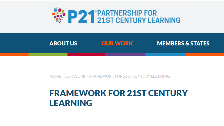 P21 framework for 21st century learning