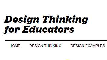 Design thinking toolkit for educators