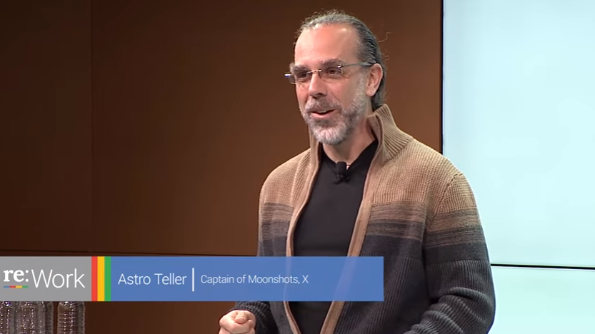 Astro Teller's talk on failure and innovation