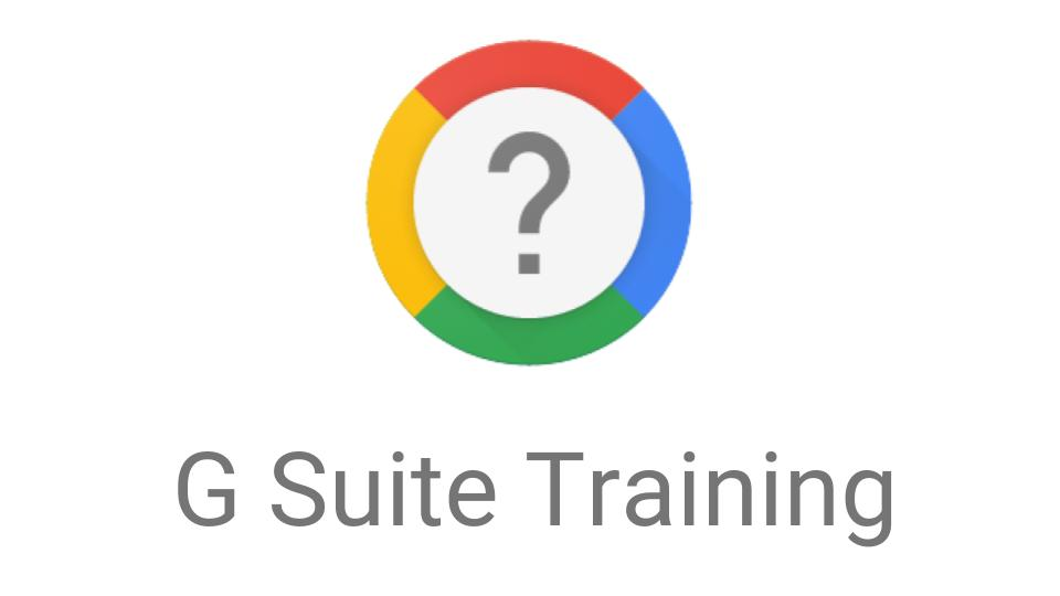 G Suite Training: a free assistant and help desk