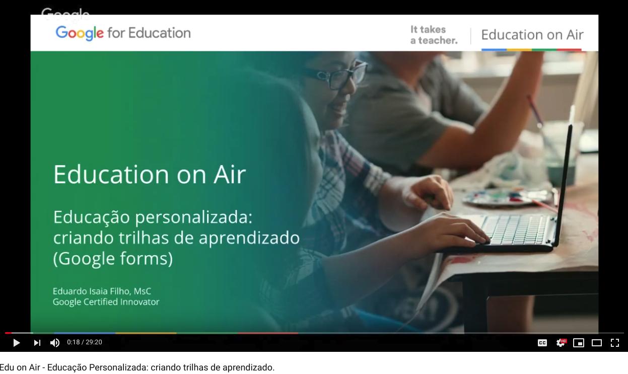 Edu on Air - Educação Personalizada: criando trilhas de aprendizado