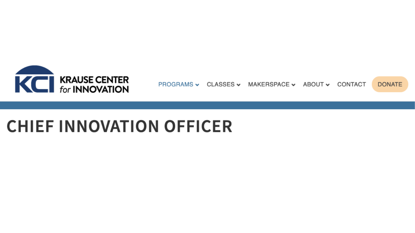 Chief Innovation Officer Program - Cohort 2