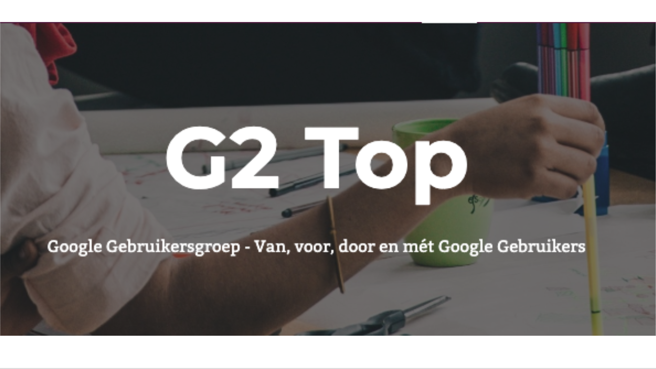 G2 Gebruikersgroep