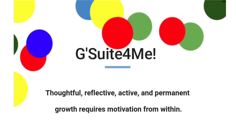 G'Suite4Me!