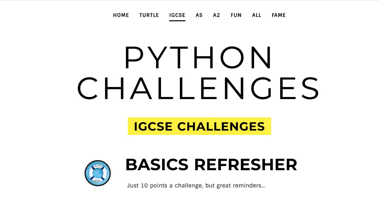Python Challenges