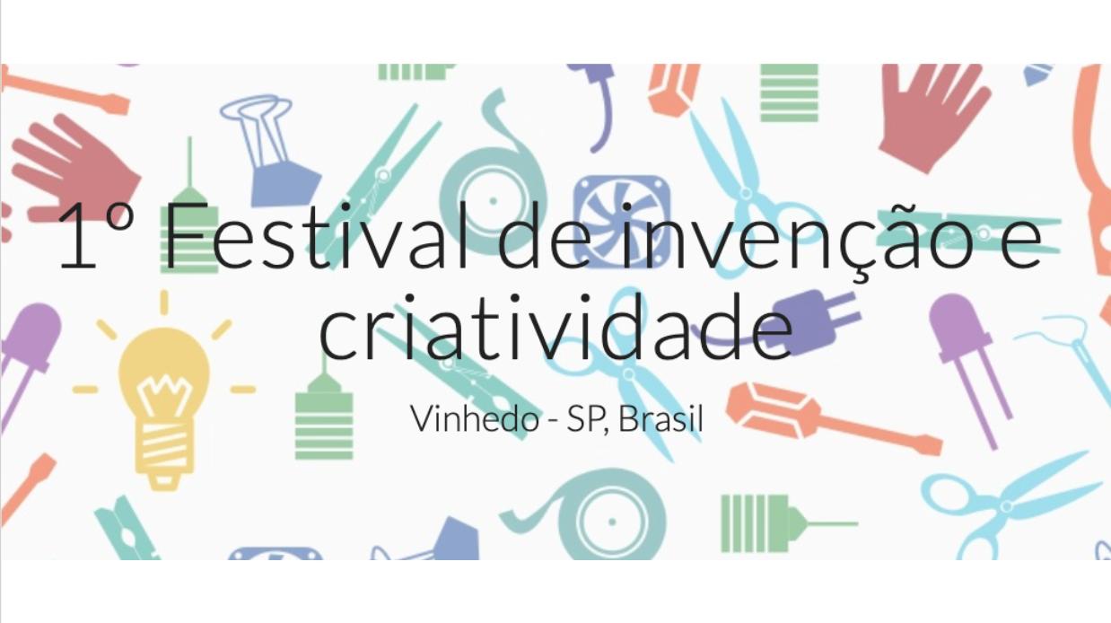 Festival de Invenção e Criatividade no município de Vinhedo
