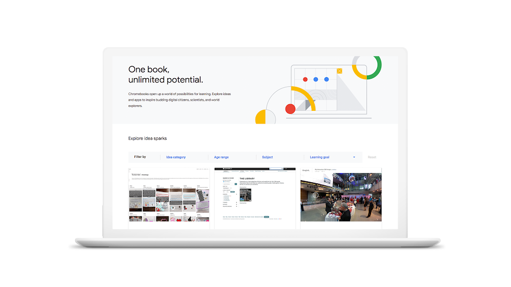 Chromebook App Hub Idea Sparks