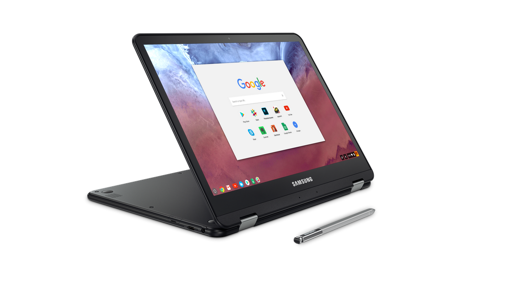 Samsung Chromebook Pro with pen