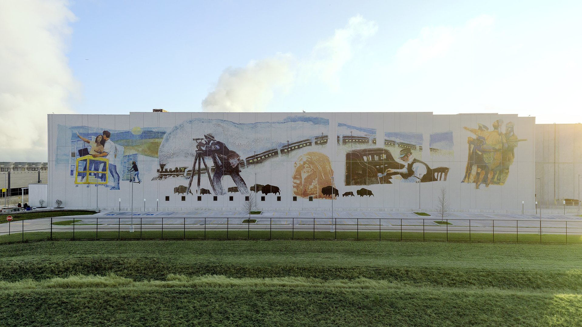 See our latest data center murals - Google Updates