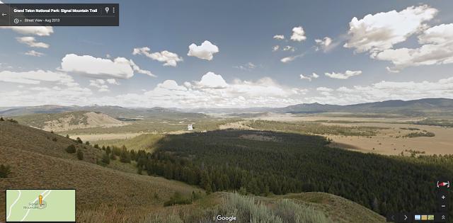 Grand Tetons - Street View