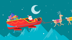 Santa Tracker liftoff