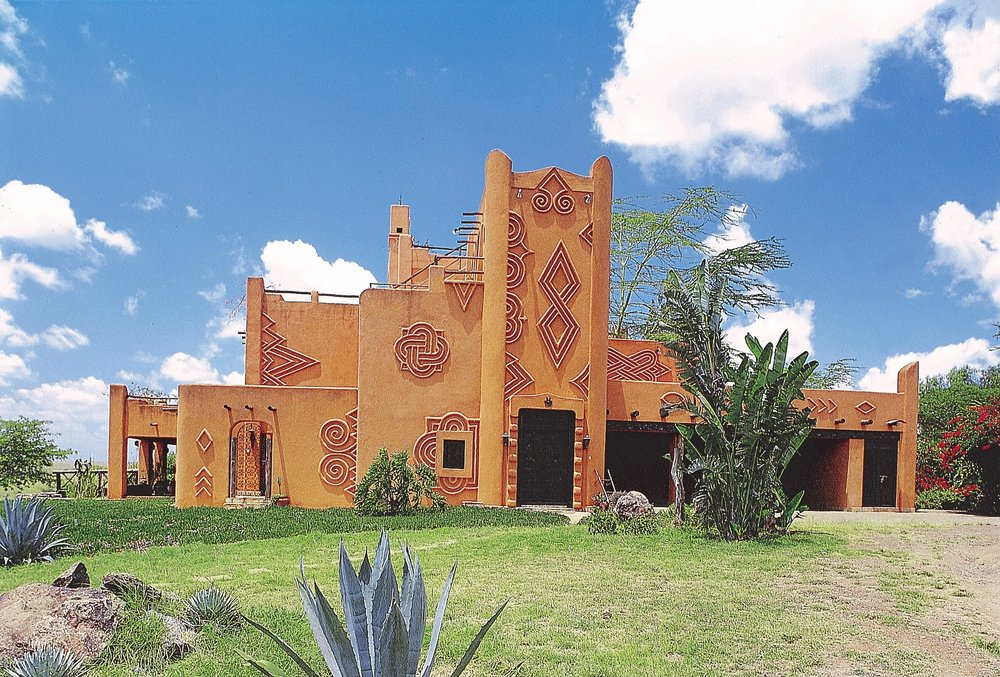 Exterior of the African Heritage House, Deidi von Schaewen, African Heritage House