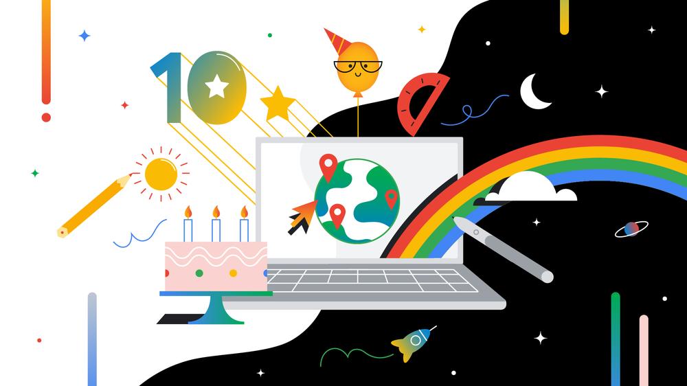 Video of Chromebook 10th birthday