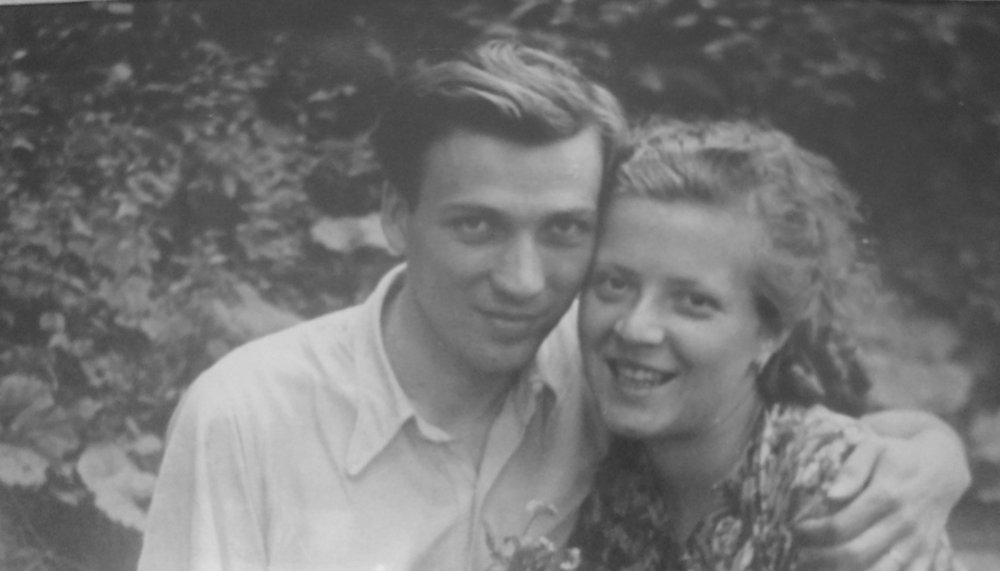 After being released by the Nazis in 1942, Jaroslav Franc (pictured here with his wife) became a manual worker in a dairy factory. When the war ended, he was finally able to finish his university studies. He then became a recognized chemist with several dozen scientific patents.
