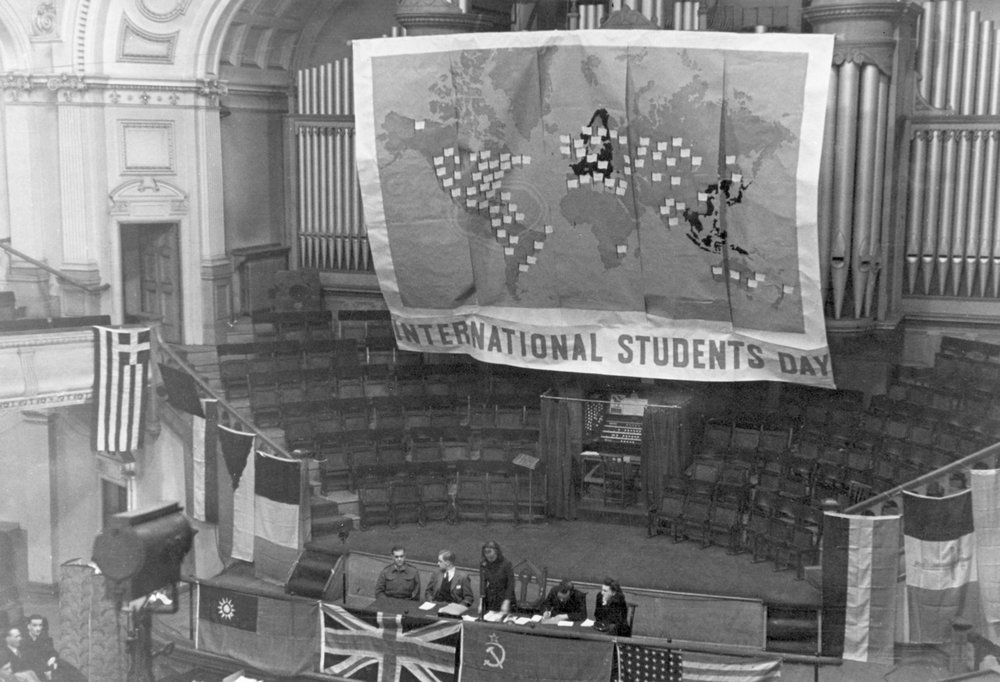 The International Students' Council in London in 1941 decided to name November 17 International Students' Day