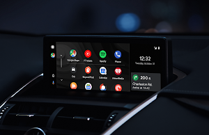 Android Auto In-Car Widescreen
