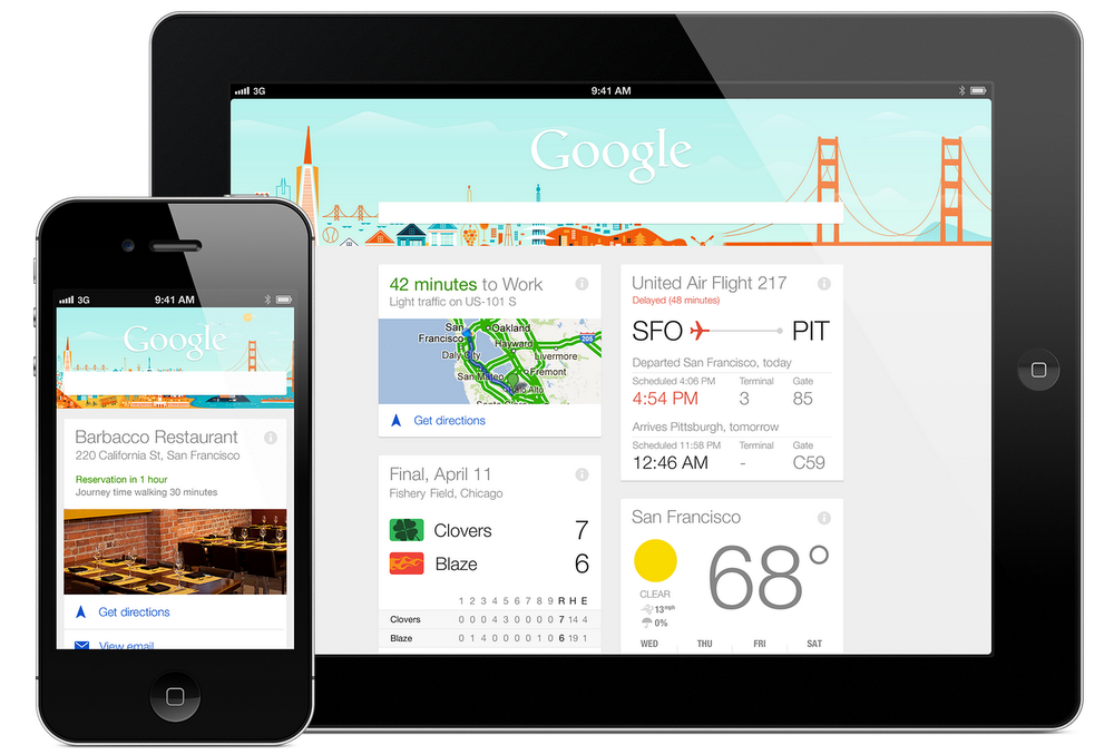 Google Now on devices