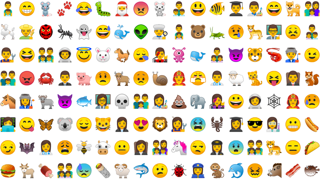 Emoji in Android Oreo a fully redesigned emoji set including over 60 new emoji