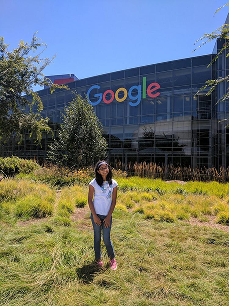 Ananya at Google