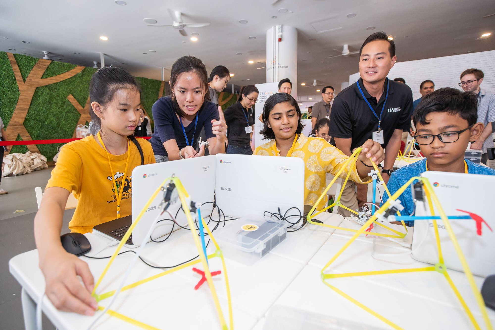 Young coders are shaping Singapore's future