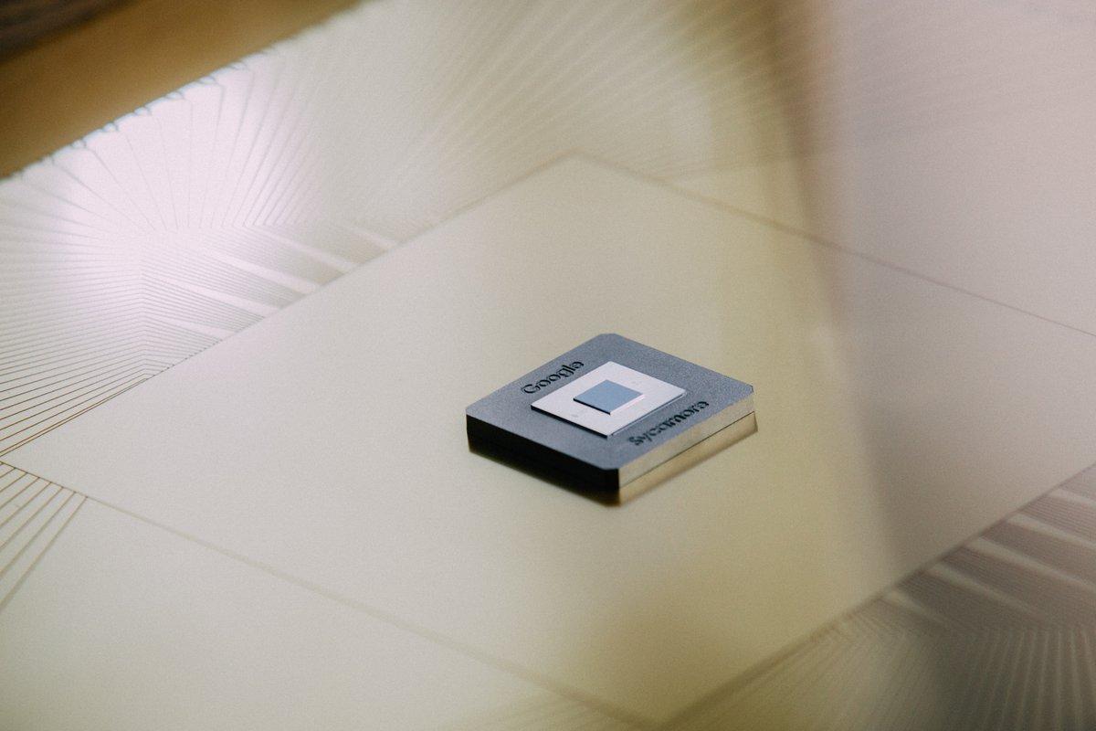 The Sycamore processor chip
