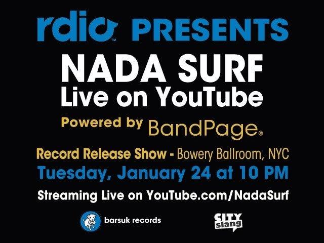 Nada Surf - Live & Playlisting