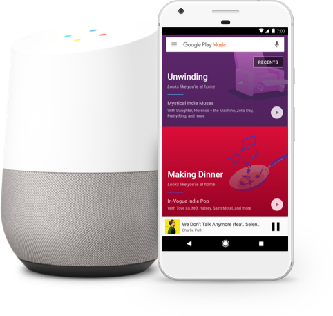 Google Play - Google Home Device