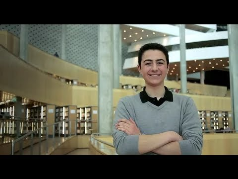 Meet Amr from Egypt (Global Winner, EMEA, 17 - 18 year olds)