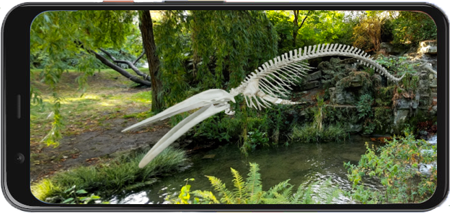 Invite ancient creatures to your living room with AR