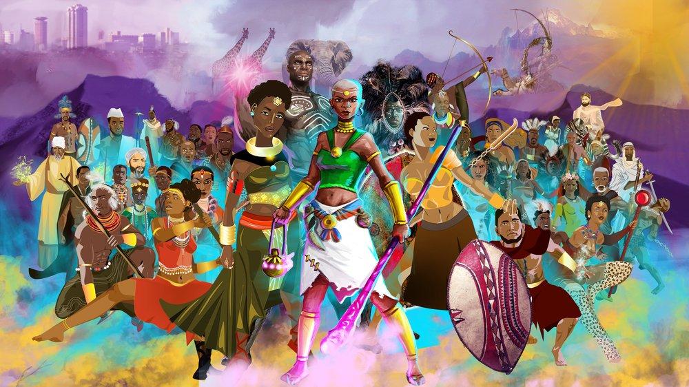 Superheroes of Kenya, Shujaa Stories and National Museums of Kenya, 2020