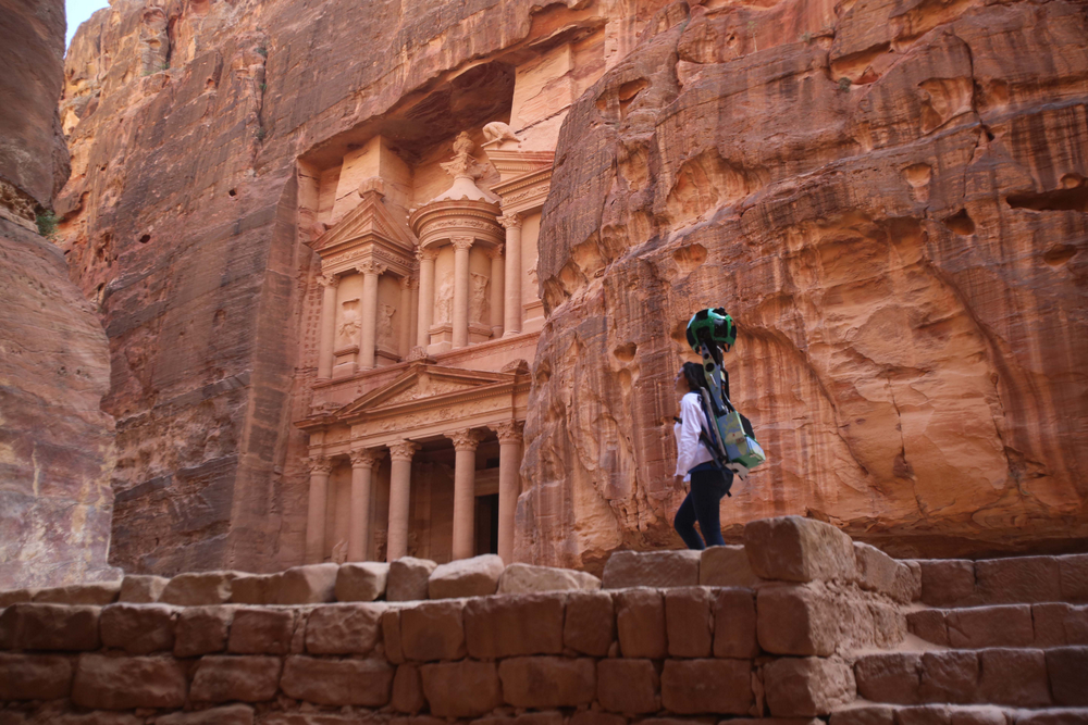 Discover Jordan's past and present in Google Maps