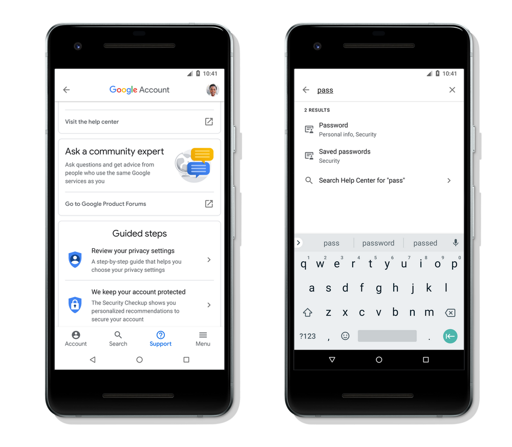 More transparency and control in your Google Account