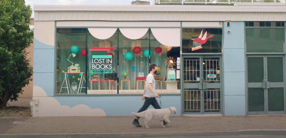 Aussie bookshop