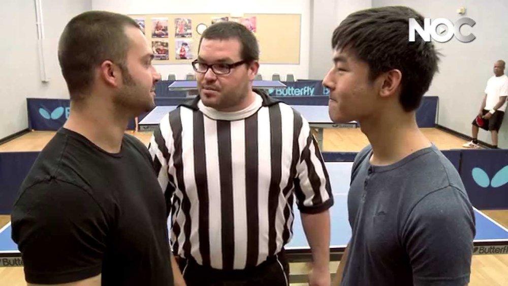 NOC Archives: KevJumba vs. NY Yankee Nick Swisher Ping Pong FaceOFF
