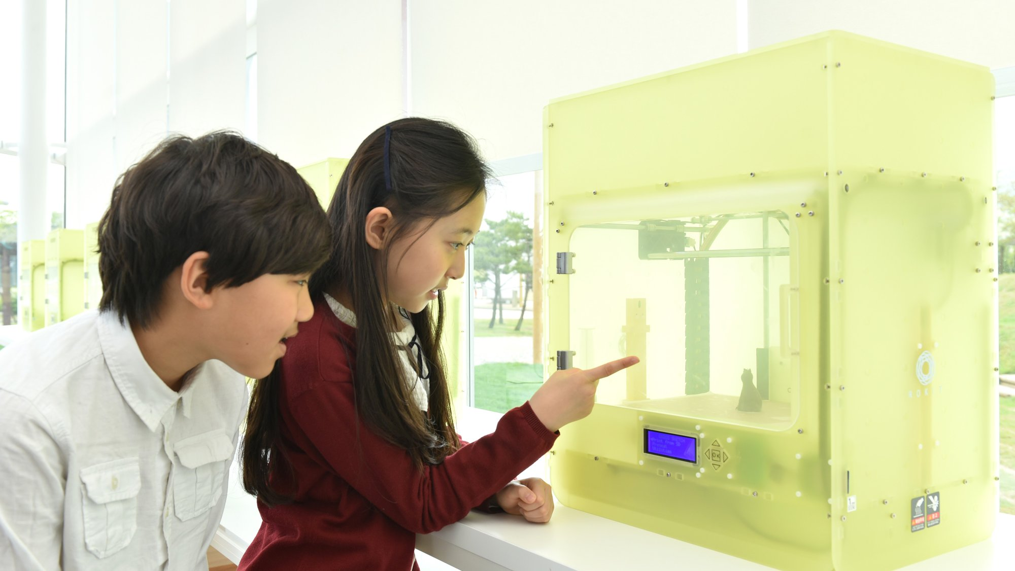 3D printing at the Science Playground in Seoul