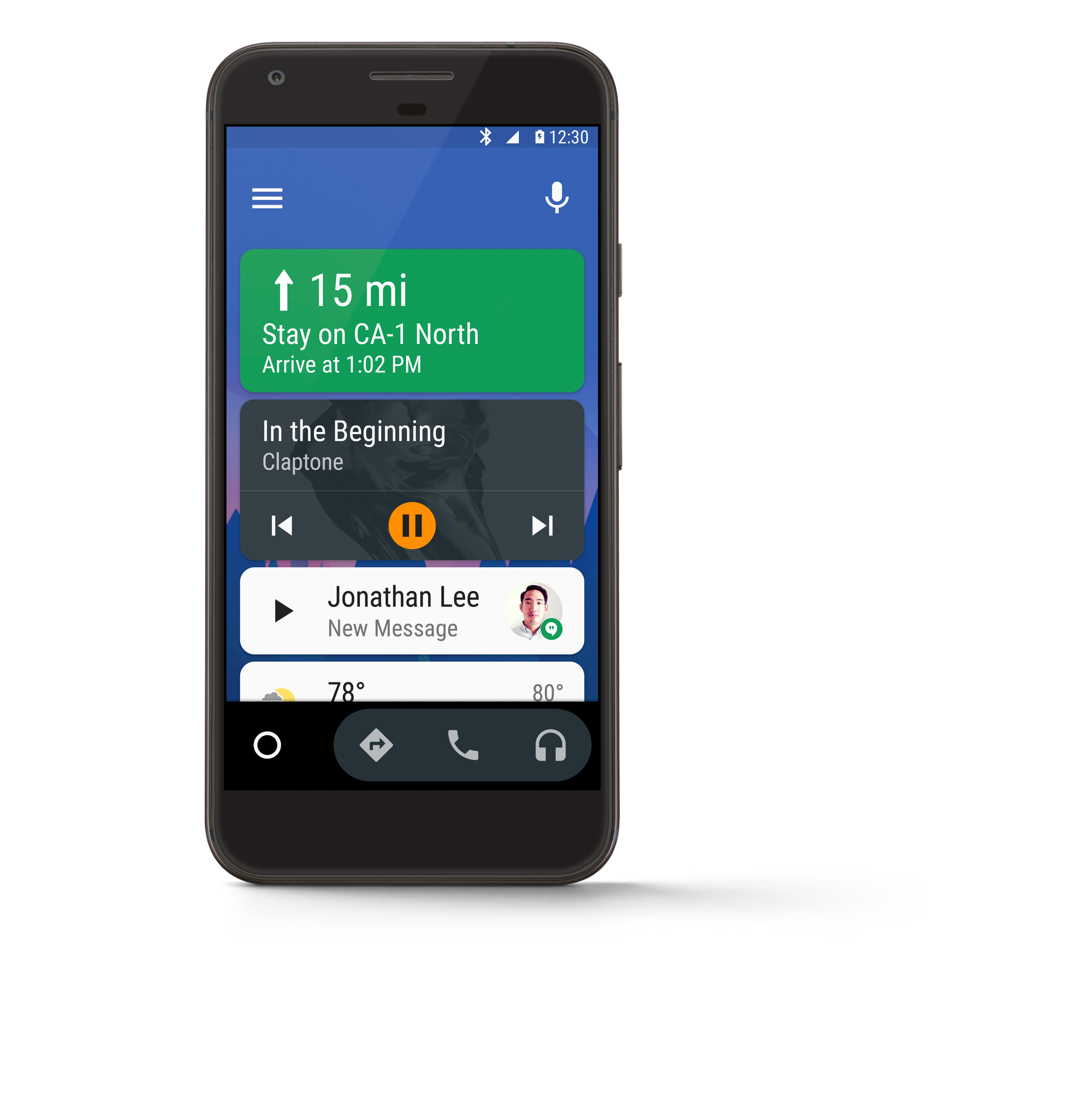Phone Android Phone What Is It android auto now available in every car on your phone screen