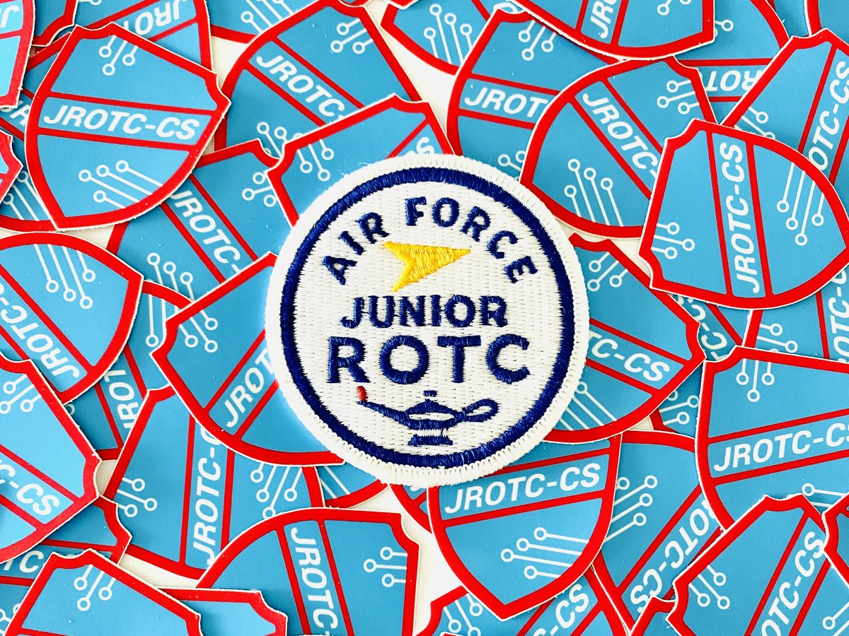 Air Force Junior ROTC badges