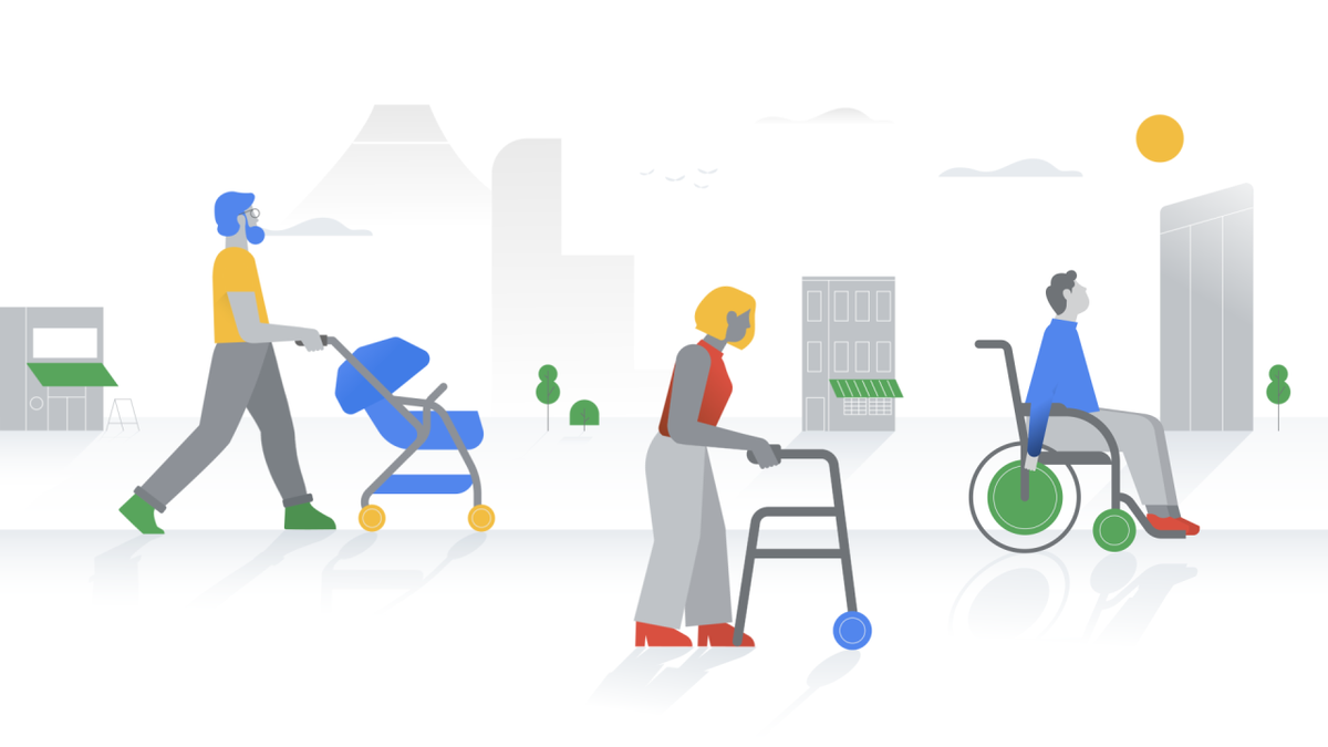 Find wheelchair accessible places in Google Maps