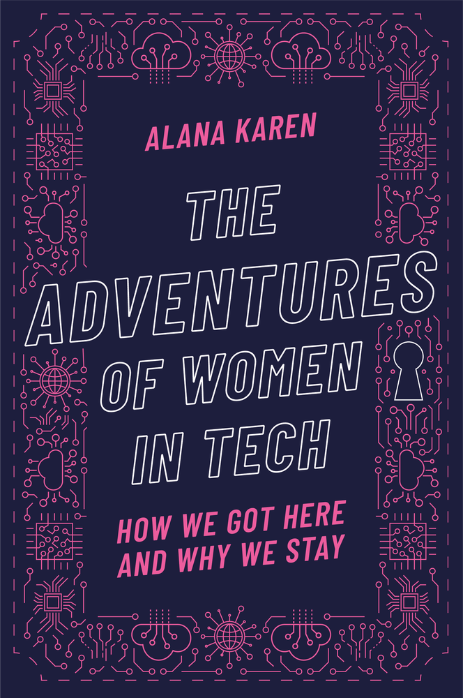 "The cover of ""The Adventures of Women in Tech"""