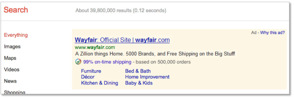 Google Trusted Store AdWords