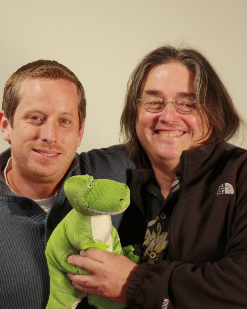 Mark Meyer (left) - Research Group Lead at Pixar and John Anderson (right) - Principal Scientist at Google Research during their shared time at Pixar