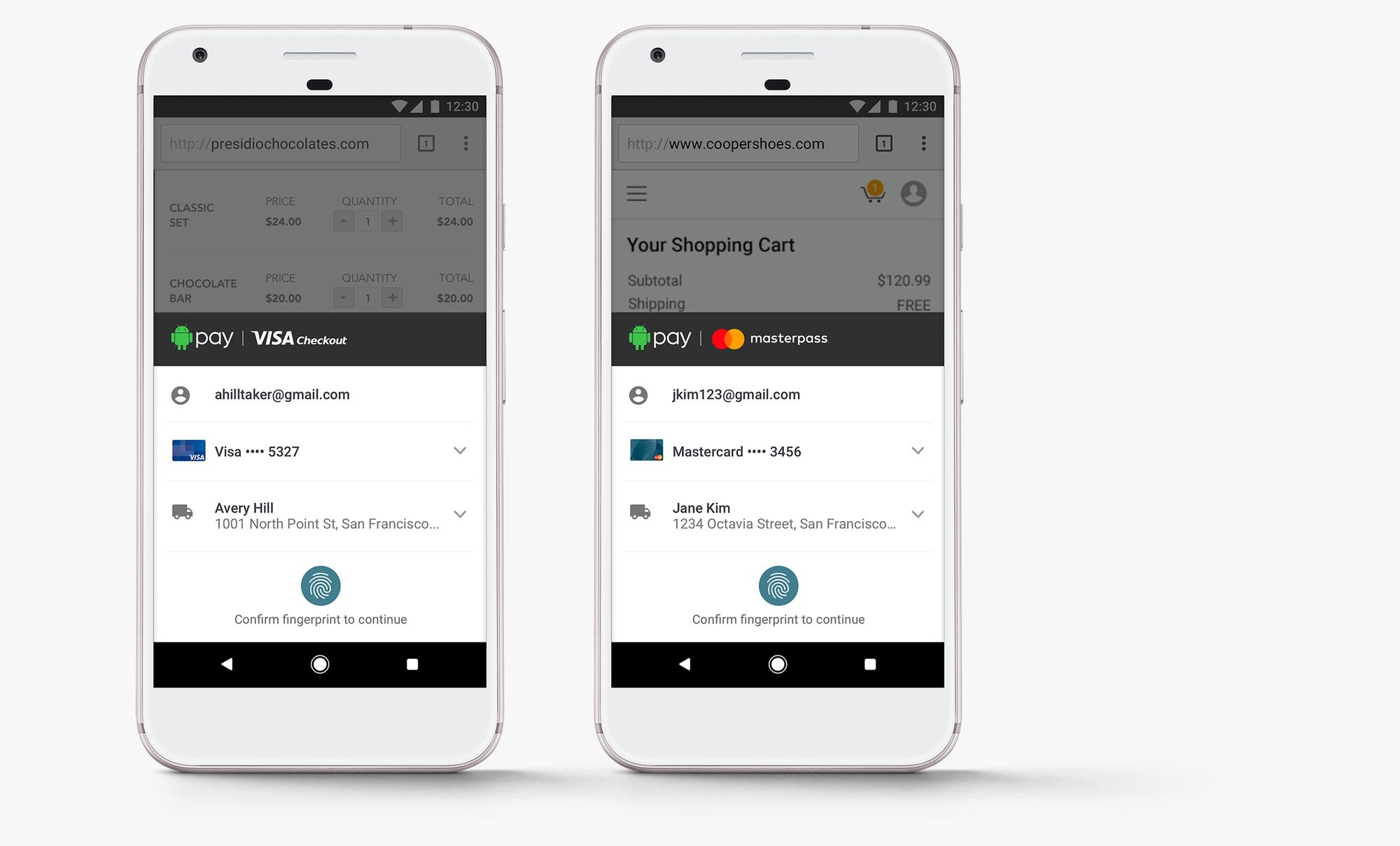 android pay - visa checkout mobile app - Pakistani Google