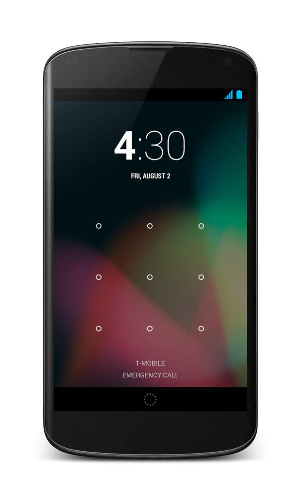 Android screen lock