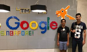 Arjun & Vayun at Google Singapore.JPG