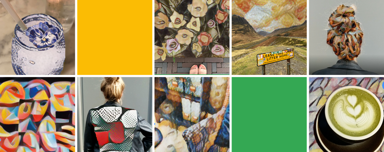 Transform your photo in the style of an iconic artist