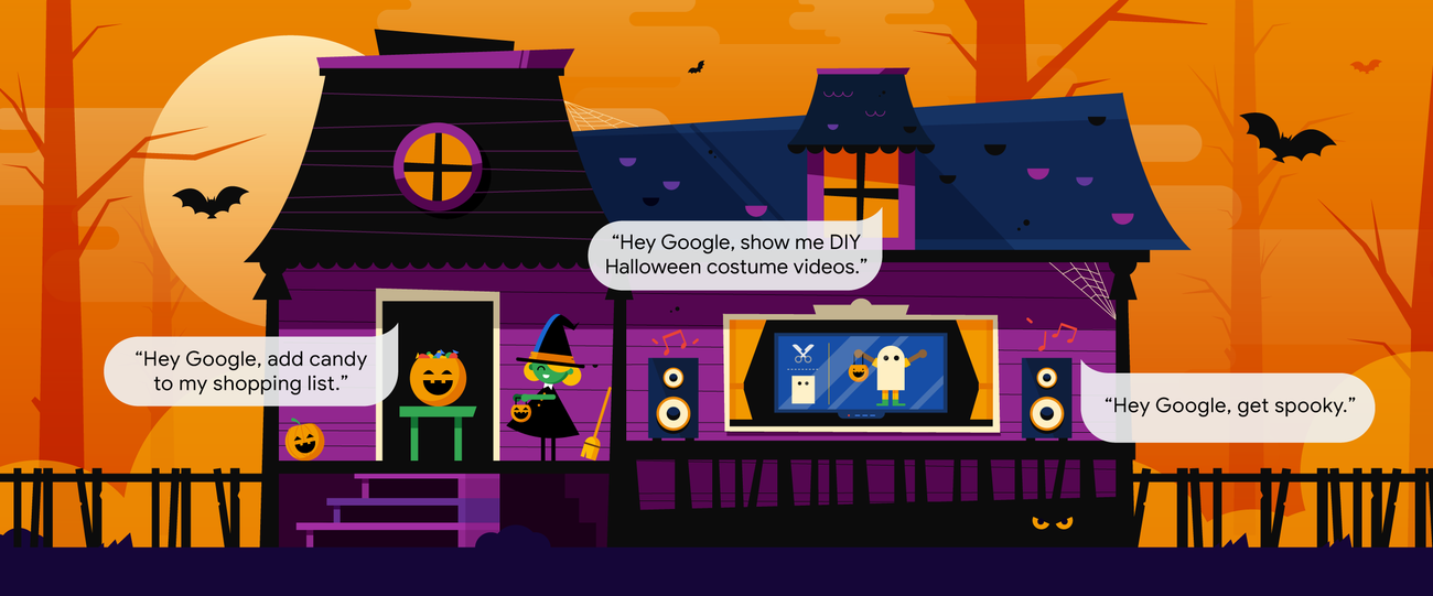 13 ways to conjure up a spooky smart home this Halloween