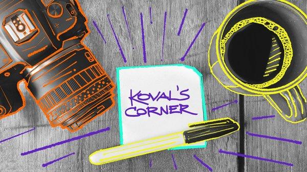 Koval's Corner: Um criador de conteúdo do lado de dentro