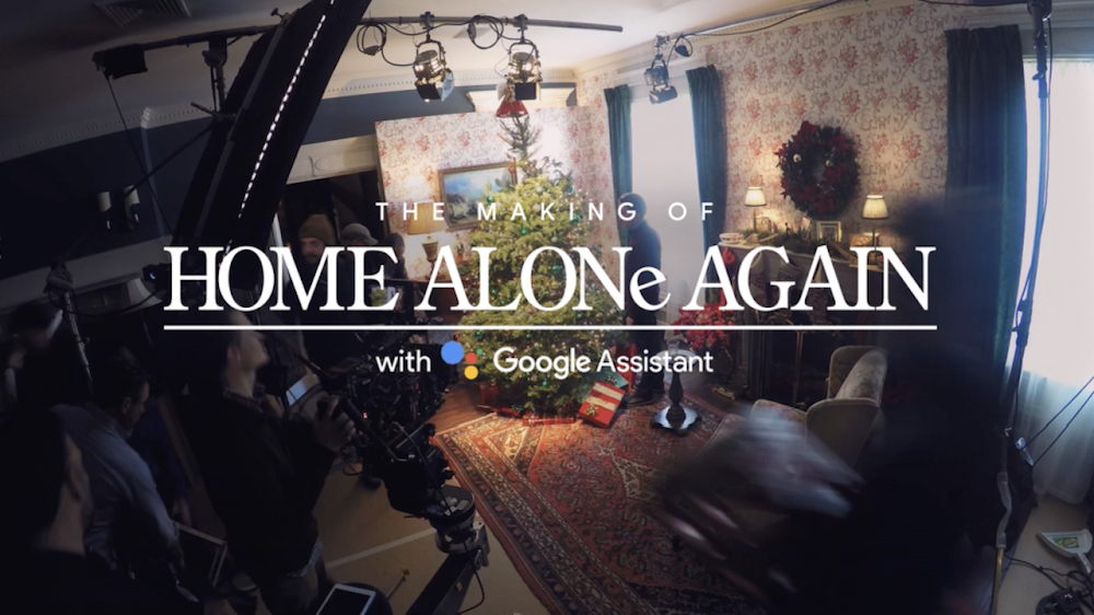 Go Home Alone Again with the Google Assistant—ya filthy animal