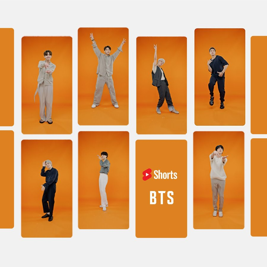 BTS and YouTube's 'Permission to Dance' challenge kicks off today only on YouTube Shorts