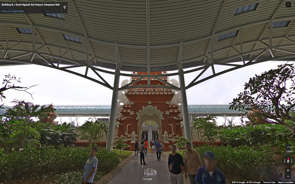 Bali airport on Google Indoor Maps